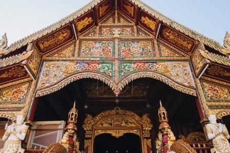 Photo for Beautiful ancient architecture with statues at Chiang Mai, Thailand - Royalty Free Image