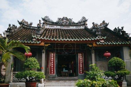 Photo pour Architecture du bâtiment oriental traditionnel à Hoi An, Vietnam - image libre de droit