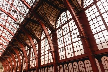Photo for Inside of famous antwerpen-centraal station interior, Antwerp, Belgium - Royalty Free Image