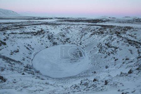 frozen lake kerid