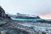 "Постер, картина, фотообои ""ледник svinafellsjokull"""