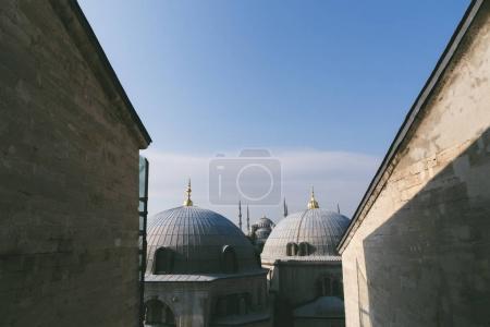 Foto de Ver en la parte superior de la mezquita de Süleymaniye en Estambul, Turquía - Imagen libre de derechos
