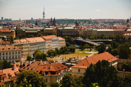 Photo for View of roofs in old town in Prague, Czech Republic - Royalty Free Image