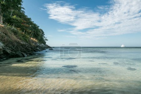 Photo for Beautiful scenic view of cloudy sky and ocean, phuket, thailand - Royalty Free Image