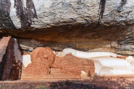 Photo for Close up view of traditional ancient religious monument in Asia, sri lanka, sigiriya - Royalty Free Image