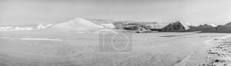 Photo pour Vue panoramique du paysage arctique - image libre de droit