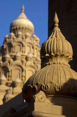 Temple domes, Hindu temple