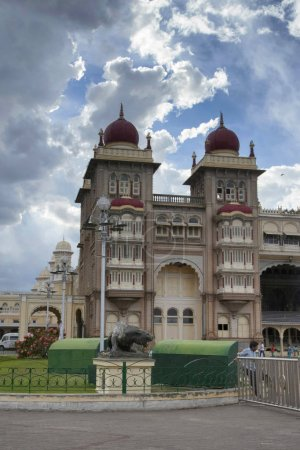 Mysore, Karnataka India. 15, March, 2015. The Palace of Mysore, Mysore.  Official residence of the Wodeyars rulers of Mysore