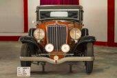 AUTO WORLD VINTAGE CAR MUSEUM, AHMEDABAD, GUJARAT, INDIA, 13 January 2018. Auburn V-12