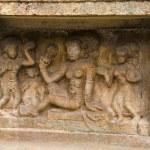Carved idol on the inner wall of Airavatesvara Tem...