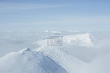 mountains peaks