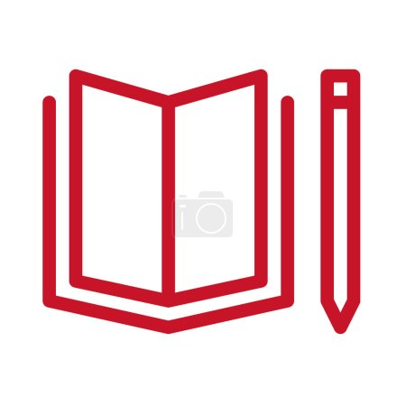 Photo for Quality education color icon. Corporate social responsibility. Sustainable Development Goals. SDG sign. Pictogram for ad, web, mobile app. UI UX design element. Editable stroke. - Royalty Free Image