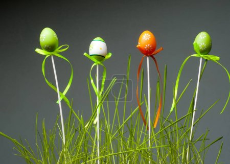Easter eggs. the most important and oldest festival of the Chris