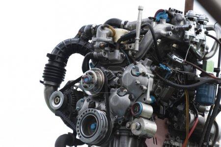 Closeup of car engine Koh