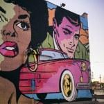 Mural on wall, Minneapolis, Hennepin County, Minne...