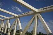 Irene Hixon Whitney Bridge in Minneapolis, Hennepin County, Minnesota, USA