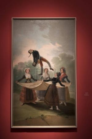 Photo for The Straw Manikin painting by Francisco Goya, Israel Museum, Jerusalem, Israel - Royalty Free Image