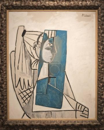 Portrait of Sylvette David by Pablo Picasso, Israel Museum, Jerusalem, Israel