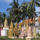 Temple complex, Siem Reap, Cambodia