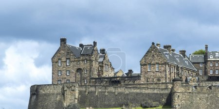View of the Edinburgh Castle, Edinburgh, Scotland