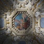 """Постер, картина, фотообои """"Фрески на потолке, Дворец дожей, Венеция, Венето, Италия"""""""