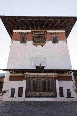 Facade of the Rinpung Dzong, Paro District, Bhutan