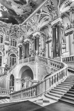Jordan Staircase of the Winter Palace, Hermitage Museum, St. Petersburg, Russia