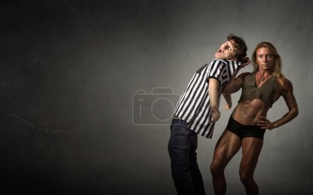 wrestling problem with referee