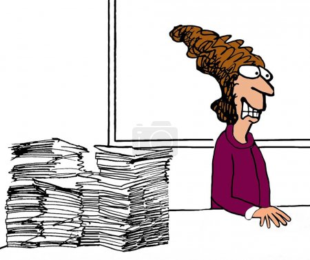 Too Much Paperwork