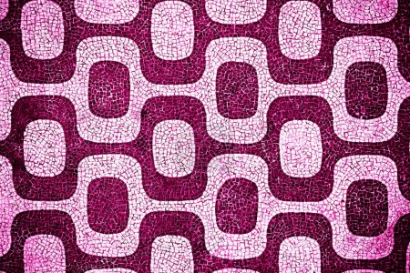 Photo for Purple and pink pattern wallpaper - Royalty Free Image