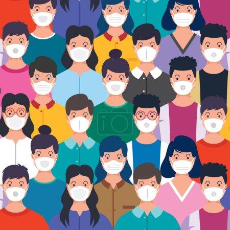 Illustration pour Soins de santé et concept médical - image libre de droit