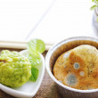 Mold on food, idea of poison and affected food fro...