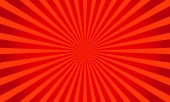Retro red shiny starburst background Sunburst abstract textureVector illustration