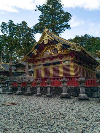 Nikko Toshogu Shrine temple in Nikkoat autumn, Japan