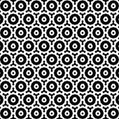 Gear seamless pattern Vector abstract background