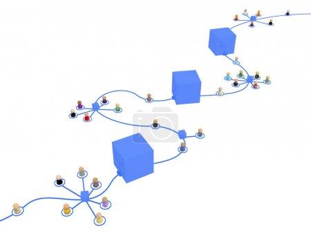 Cartoon System Block Chain