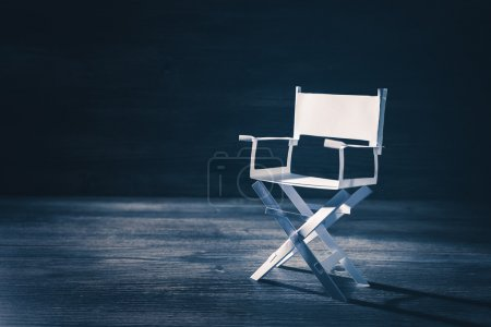 director chair on background