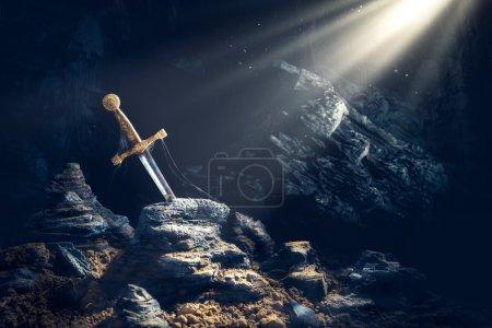 Sword in the stone excalibur
