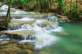 Level 1 of Huay Mae Kamin waterfall in Khuean Srinagarindra Nati
