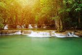 Level 2 of Huay Mae Kamin waterfall in Khuean Srinagarindra Nati