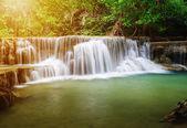 Huay Mae Kamin waterfall in Khuean Srinagarindra National Park,