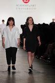 Designers walk the runway