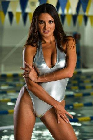 woman in sexy  bikini