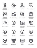 Personal & Business Finance Icons Set 4 - Sympa Series