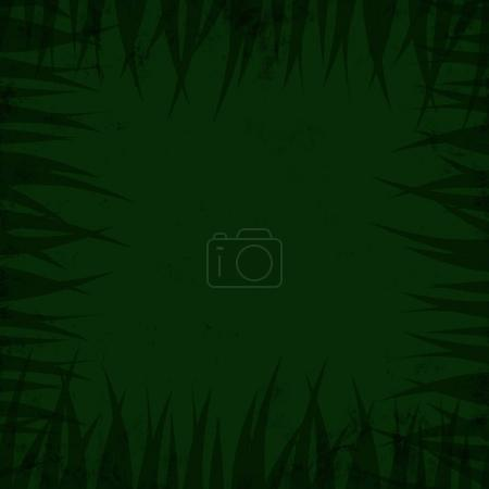 Jungle flora background