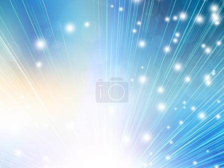 abstract background with flashes