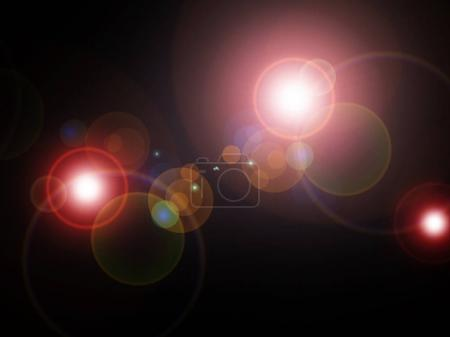 abstract light flash