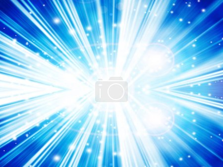 abstract background with beams