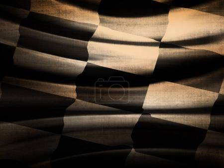 Photo for Abstract Racing Flag   with place for text - Royalty Free Image