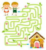 Hansel and Gretel maze game